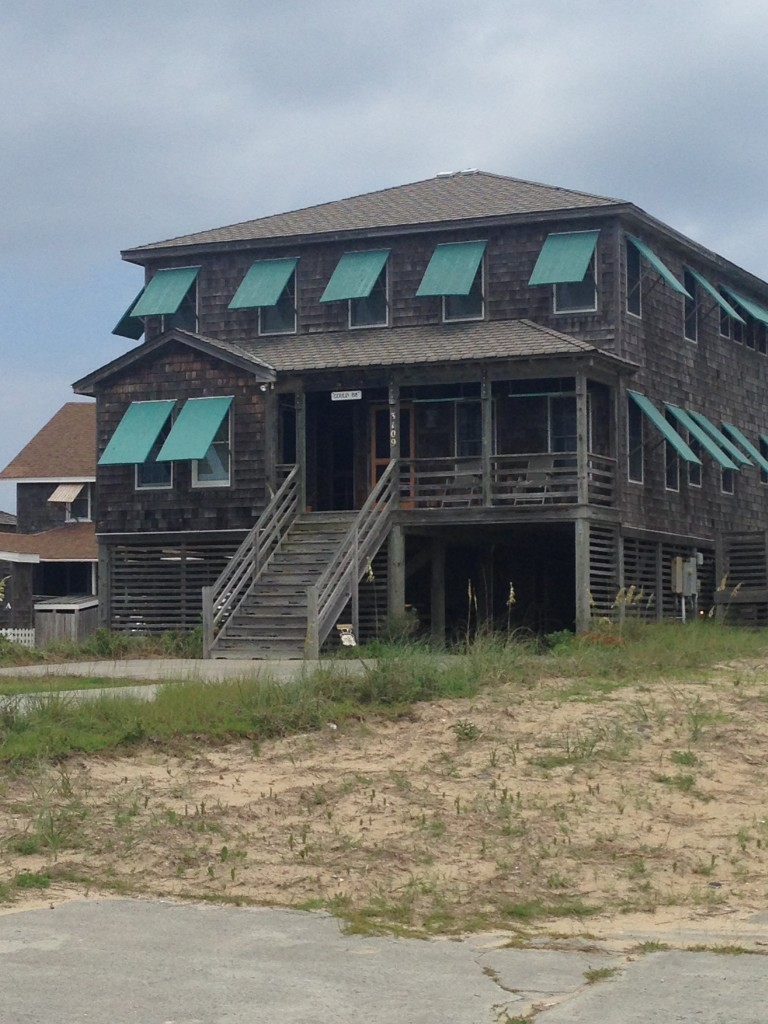 Traditional looking home in NagsHead, NC
